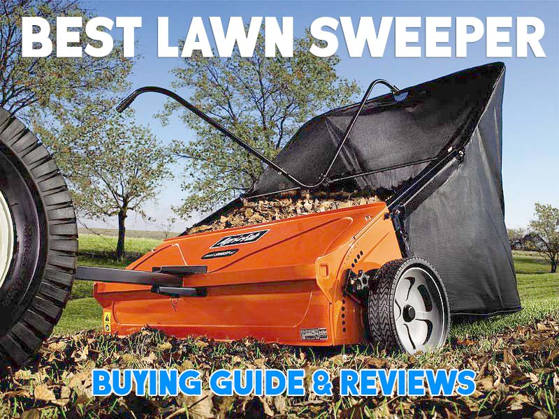 Best Lawn Sweeper 2016 Top 7 Picks For The Money