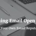 declining email open rate
