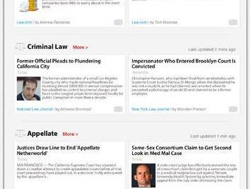 Law.com Launches iOS App; Readies New Contributor Network