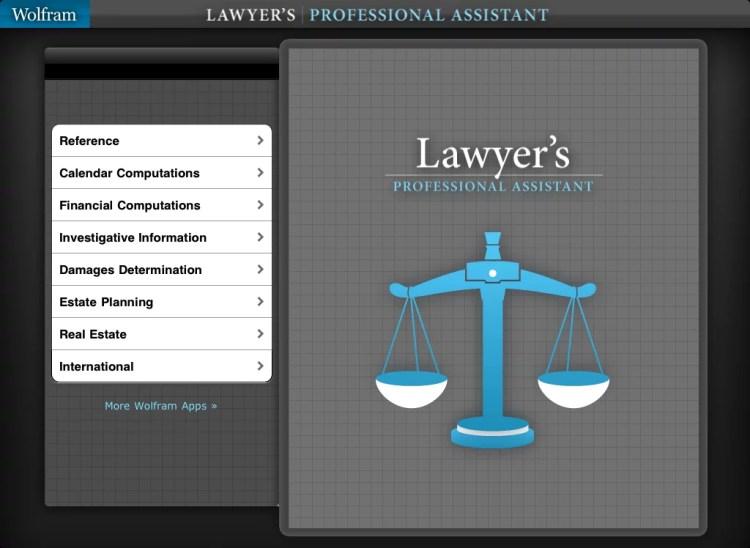 LawyerProfessionalAsstForiPad-1