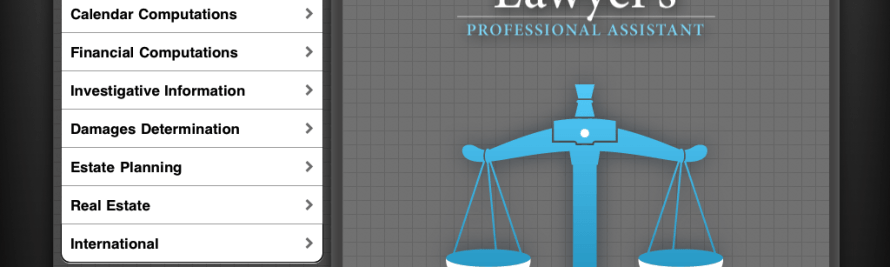 Wolfram|Alpha iOS App is a Swiss Army Knife for Lawyers