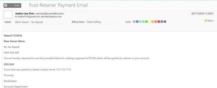 Trust-Retainer-Online-Payment-Request