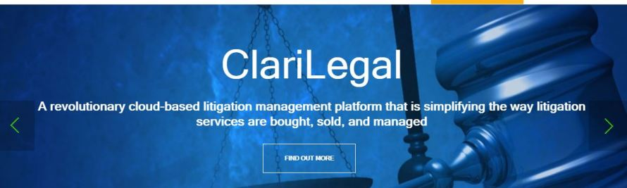 Startup ClariLegal Aims to Simplify How Litigation Services are Bought and Sold