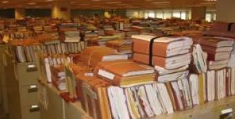 VA File Room at the Winston-Salem RO