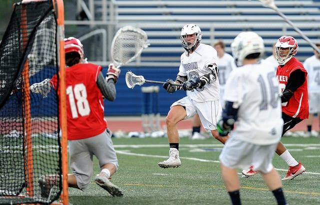 3 3 man up skips lacrosse play