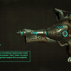 How to get the Alien Blaster gun in Fallout 4