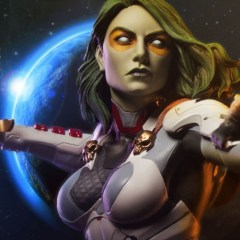 Sideshow's Gamora premium format figure is coming for you
