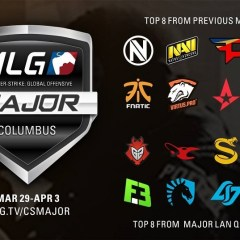 MLG Columbus CS:GO Major teams have been completed