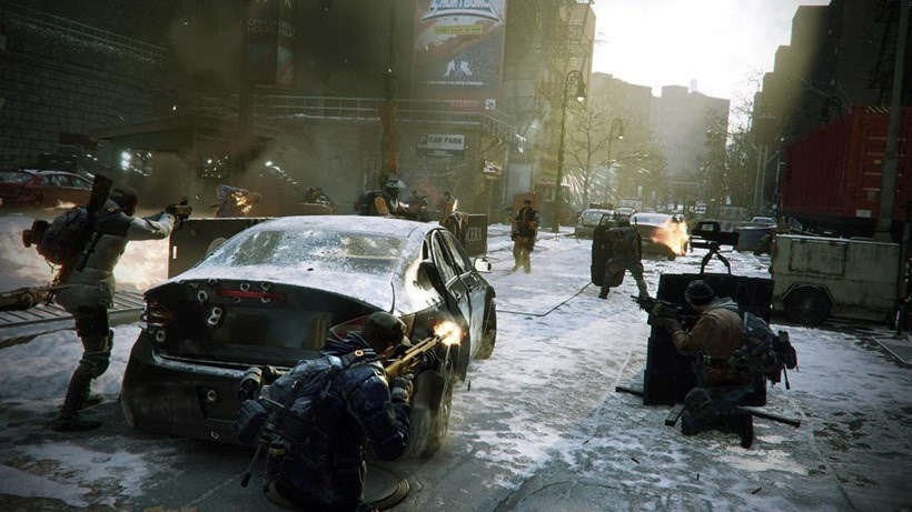 The Division servers down for maintenance