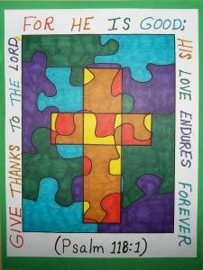 bible verse cross art 1