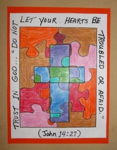 bible verse cross art 2