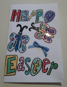 happy easter card bow 3