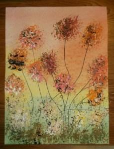 abstract dandelions 4