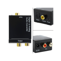 digital to analog audio converter box