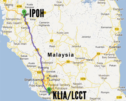 map to lcct