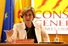 Hermeline Malherbe présidente du Conseil Général des Pyrénées-Orientales