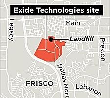 Exide Frisco landfill