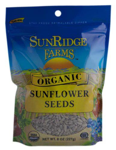 SunRidge Farms-Organic Sunflower Seeds