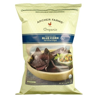 Archer Farms-Organic Blue Corn Tortilla Chips
