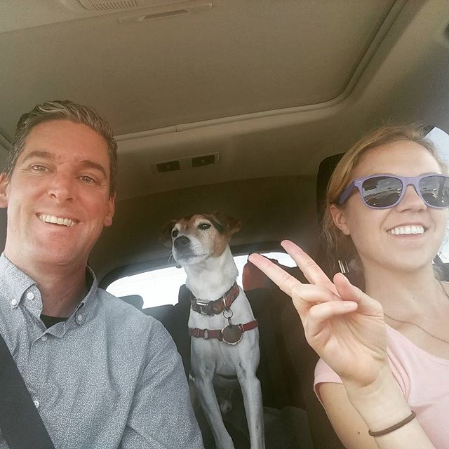 Road trippin'. Santa Barbara here we come!