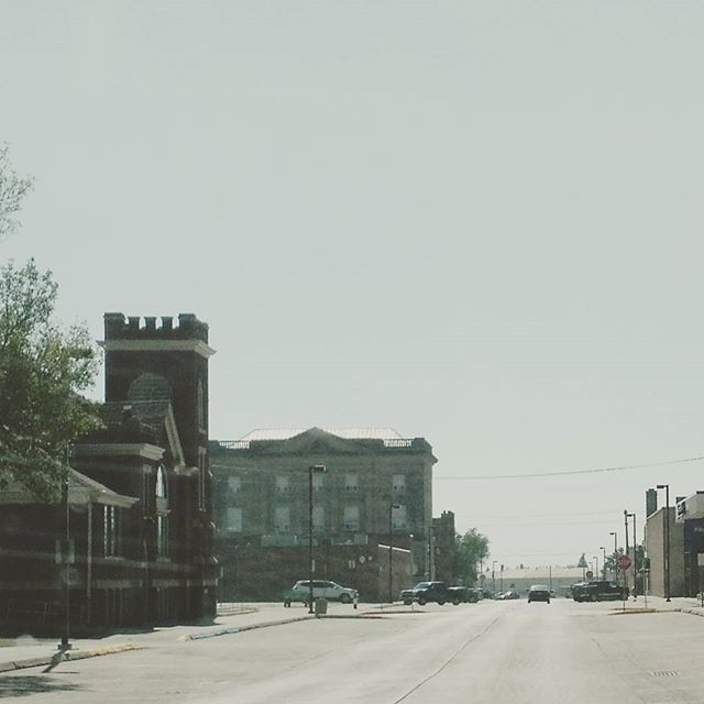 Downtown.  #devilslakenorthdakota