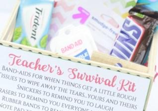 {Free Printable} Teacher Survival Kit