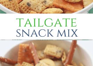 Crock Pot Tailgate Snack Mix