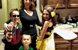 DIY Family Halloween Avenger Costumes