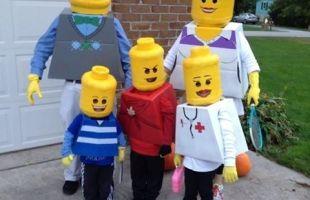 DIY Fun Family Halloween Costumes!!