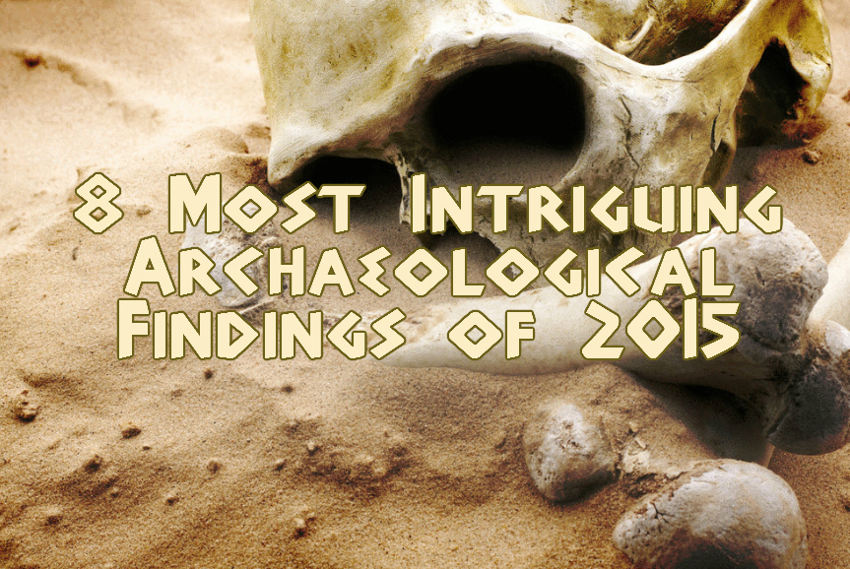 archaological findings of 2015