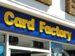 Card Factory application form