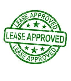 Lease Approved