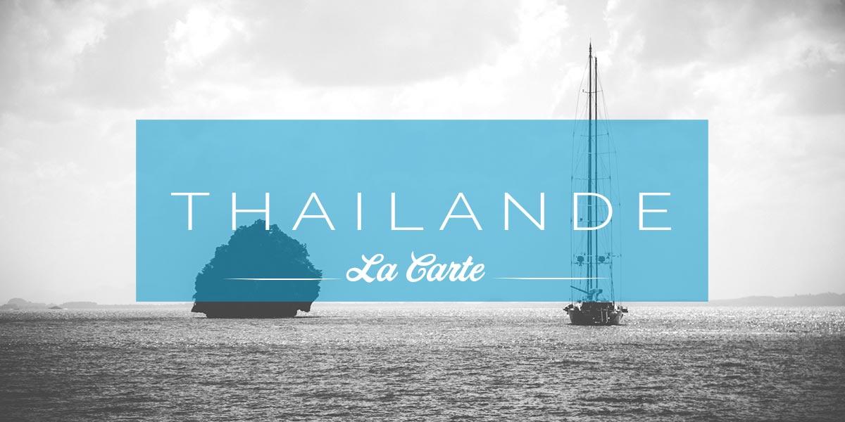 Carte Thailande mer Andaman