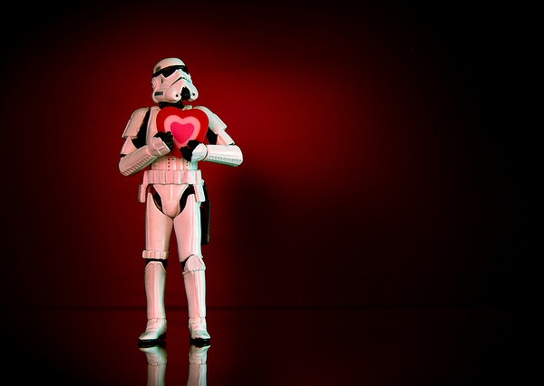 Stormtrooper In Love
