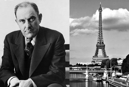 فيكتور لوستيج (Victor Lustig)  قام ببيع برج ايفل مرتين