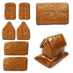 Small Of Gingerbread House Kit
