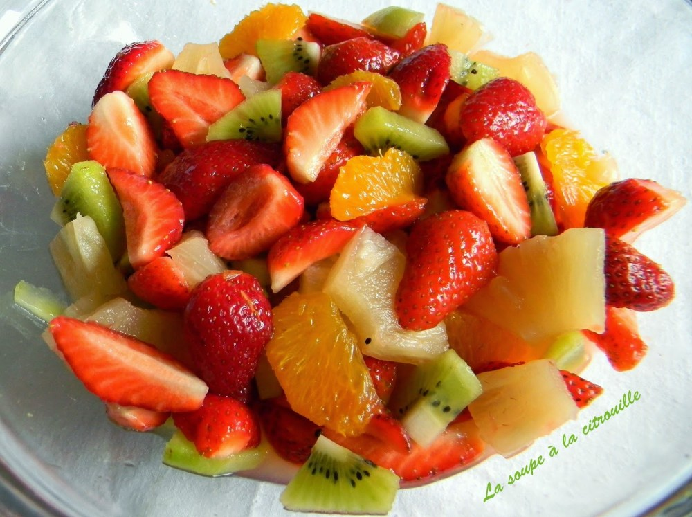 Salade de fruits express 012