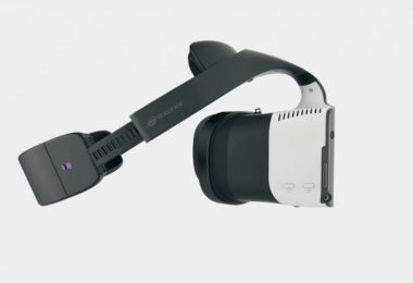 Alloy casque de réalité virtuelle d'Intel