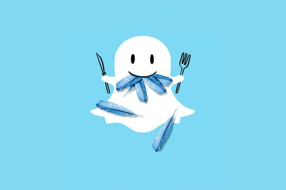 snapchat vs twitter - copie