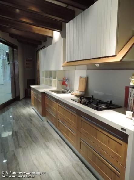 Современная трактовка кухонь для стиля Шале