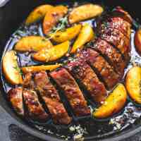 One Pan Brown Sugar Pork & Apples