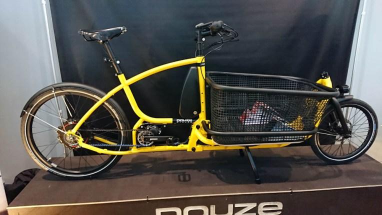 Un vélo cargo Douze, version haut de gamme !