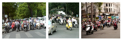 Traffic in Vietnam