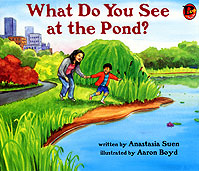 What Do You See at the Pond? cover image
