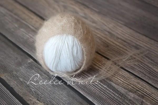 Mohair Newborn Bonnet Pattern