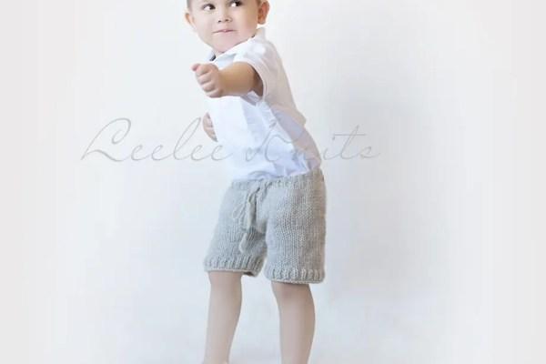Toddler Shorts Knitting Pattern