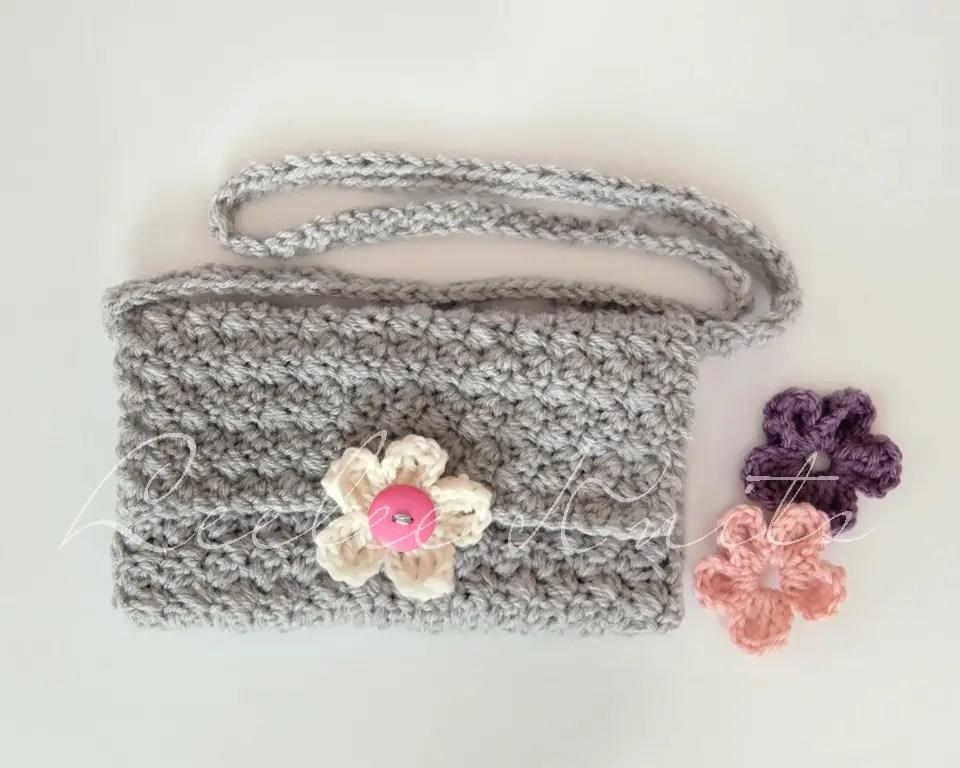 Crochet Cross Body Bag Pattern : Crochet Purse 2