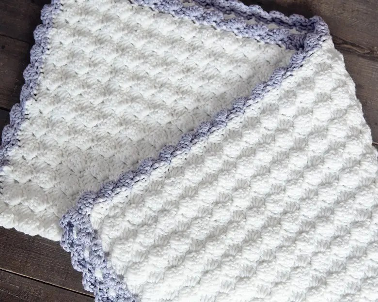 Free 4 Ply Knitting Patterns For Baby Blankets : Vintage Chic Free Crochet Baby Blanket Pattern - Leelee ...