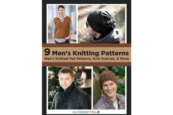 Men's Knitting Patterns eBook