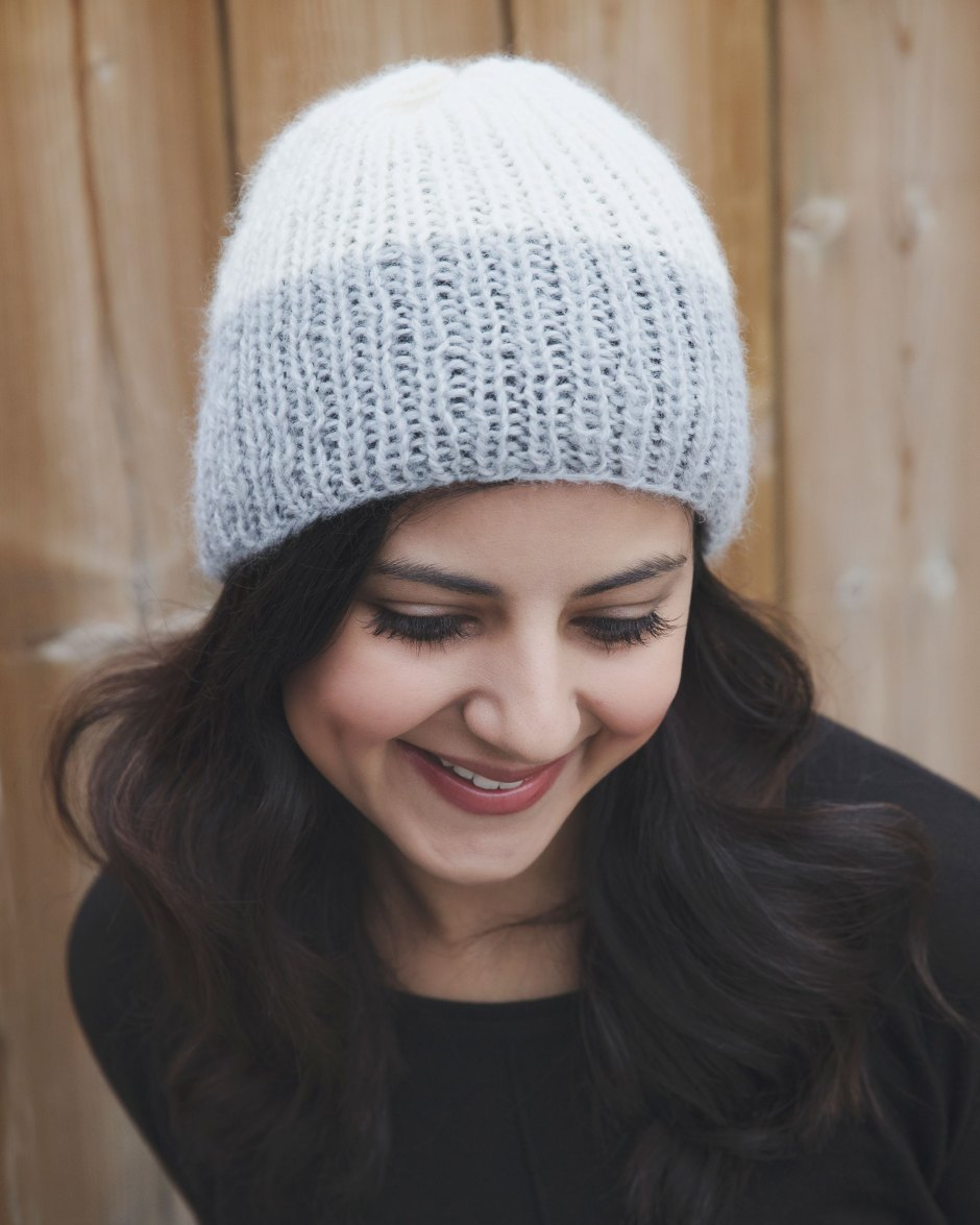 Knitting Patterns For Winter Hats : Reverie Ribbed Winter Hat Knitting Pattern - Leelee ...